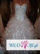 Sprzedam piekna suknie ślubną.