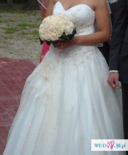 Sprzedam piękną suknię ślubną !