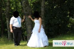 sprzedam piękną suknie ślubna