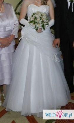 Sprzedam Piękną suknie ślubną 38!!!! Ms Moda 'JULIENNE'
