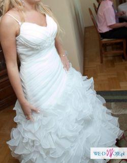 Sprzedam piękną suknię ślubną 6210 White One Madonna
