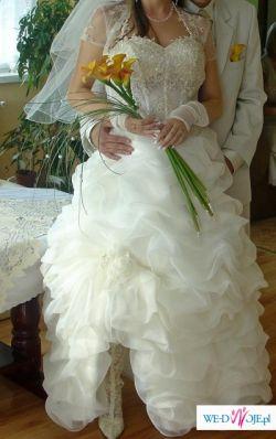 Sprzedam piękną suknie ślubną :)