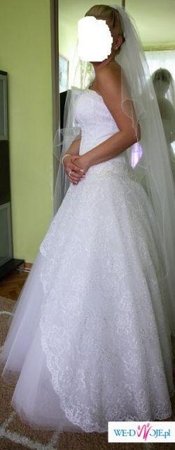 Sprzedam piękną suknie śłubną