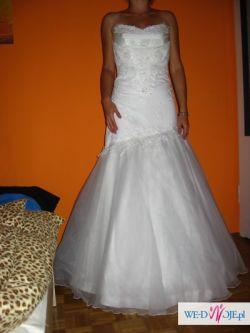 Sprzedam piękną suknię ślubną -biała