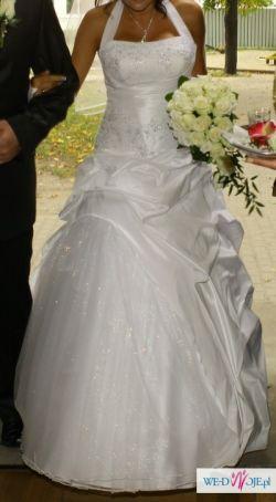Sprzedam piękną suknie ślubną Cosmopeja