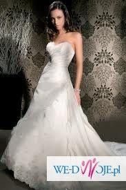 Sprzedam piękną suknię ślubną Demetrios Lisa Ferrera
