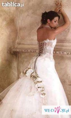 Sprzedam piękną suknię ślubną FARAGE
