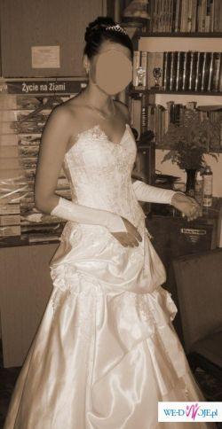 Sprzedam piękną suknie ślubną  Ferage Galaxy