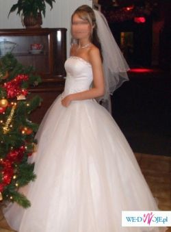 Sprzedam piękną suknię ślubną firmy AGORA rozmiar 36