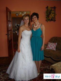 Sprzedam piękną suknię ślubną firmy Herm's model Sabbia.