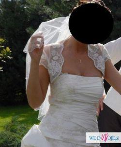 """sprzedam piękną suknię ślubną firmy """"Karina"""""""