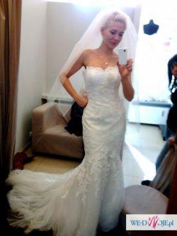Sprzedam piękną suknie ślubną firmy La Sposa. Cena do negocjacji.