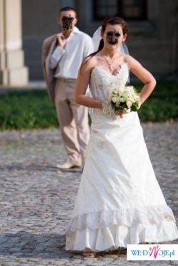Sprzedam piekną suknie slubna firmy Moda Slubna Urszula Mateja