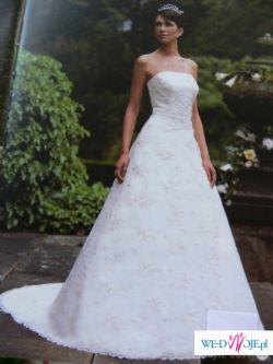 Sprzedam  piękną suknię ślubną firmy Sincerity, model 3079!!!