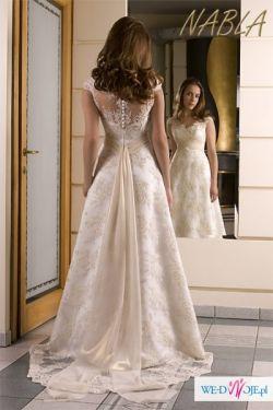 Sprzedam piekną suknię ślubną Kaedry w stylu hiszpańskim