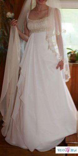 Sprzedam piękną suknię ślubną KRAKÓW