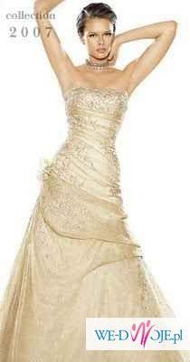 Sprzedam piękną suknię ślubną La Sposa Sandalo rozm 38