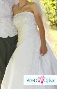 Sprzedam piękną suknie ślubną Lisa Ferrera