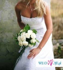 Sprzedam piękną suknie ślubną Lisa Ferrera model 955
