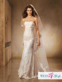 Sprzedam piękną suknię ślubną Madonna Pronovias