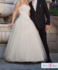 9a72e80b11 SPRZEDAM PIĘKNĄ SUKNIĘ ŚLUBNĄ PRICESSĘ - Suknie ślubne - Ogłoszenie ...