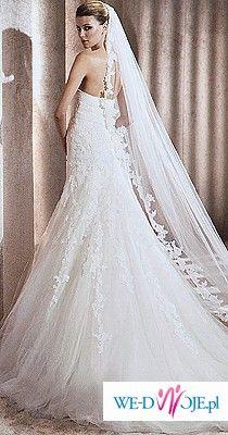 Sprzedam piękną suknię ślubną Pronovias Basauri 2012