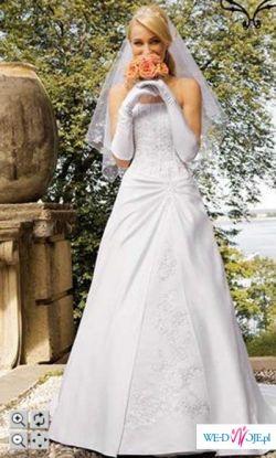 Sprzedam piekna suknie slubna prosto z Nowego Jorku