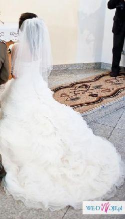 Sprzedam piękną suknię ślubną r. 34-36 Acanthe Tylko Ona