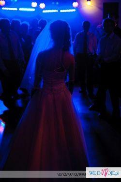 Sprzedam piękną suknię ślubną r. 34+halka+welon+rękawiczki