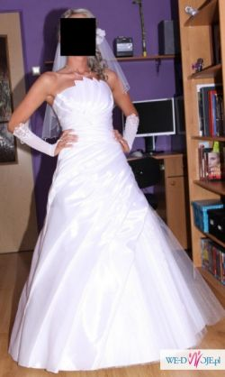 2576fa7e32 Sprzedam piękną suknię ślubną roz. 36 38 - Suknie ślubne ...