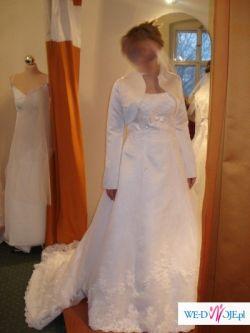 sprzedam piękną suknię ślubną rozm.42