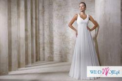 Sprzedam piękną suknię ślubną rozm. 46-48, biała