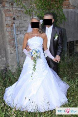 Sprzedam piękną suknię ślubną Sarah rozm. 36/38