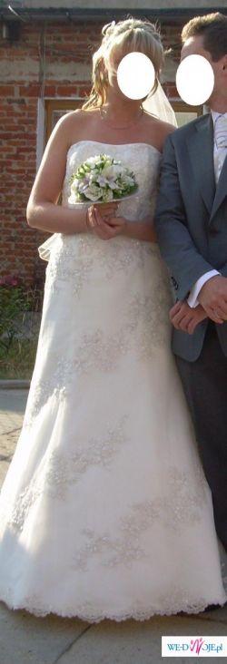 Sprzedam piekną suknię ślubną SINCERITY 3143