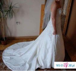 sprzedam piękna suknię ślubną sweetheart model 5885 z kolekcji 2009
