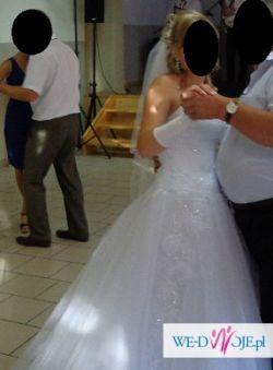 Sprzedam Piękną Suknię Ślubną typu Princeska!!