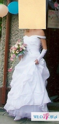 sprzedam piękną suknię ślubną w atrakcyjnej cenie!