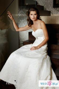 Sprzedam piękną suknię ślubną w rozmiarze 34/36
