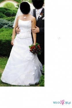 Sprzedam piękną suknię ślubną w rozmiarze 36/38