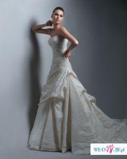 """Sprzedam piękną  suknię ślubną w stylu hiszpańskim Enzoani Blue """"Argentine"""""""