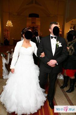 Sprzedam piekną suknię ślubną w stylu hiszpańskim rozmiar 40/44