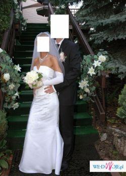 Sprzedam piękna suknię ślubną  wraz z dodatkami