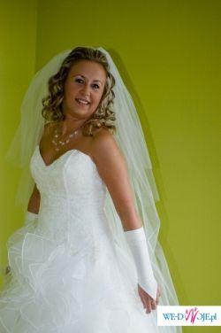 sprzedam piękną suknię ślubną z Ccentrum Ślubnego Katrin- Cymbeline + gratisy