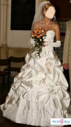 Sprzedam piękną suknię ślubną z dodatkami!!!