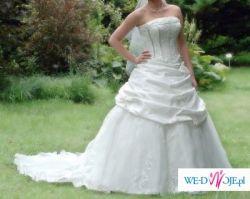 Sprzedam piękną suknie ślubną z kolekcji 2007!