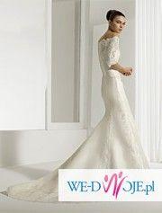 Sprzedam piękną suknię ślubną z kolekcji Air Barcelona z Hiszpanii