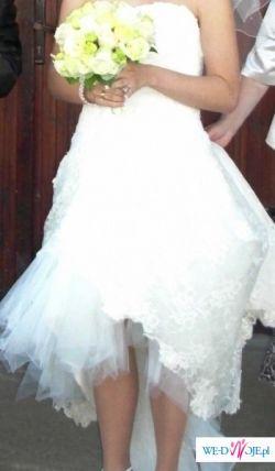 Sprzedam piekną suknie slubną z najnowszej kolekcji