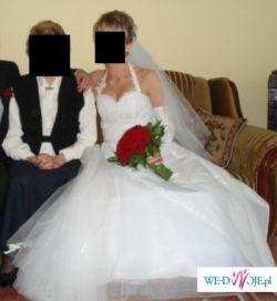 Sprzedam piękną suknię ślubną z salonu Agnes