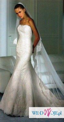 sprzedam piękną suknie ślubną z salonu Madonna