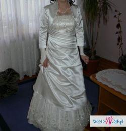 Sprzedam piękną suknię ślubną z salonu Margarett+ gratisy